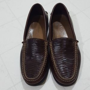 Sperry Topsider Men's Woven Leather Slip On Shoe